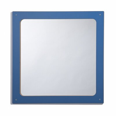 Whitney Brothers Framed Square Mirror