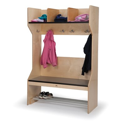 Whitney Brothers Coat Locker with Shoe Rack