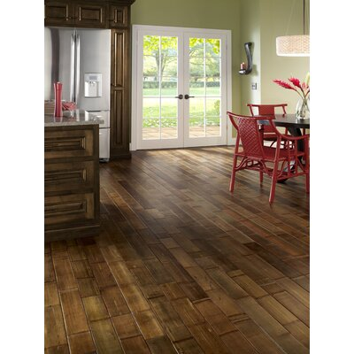 "Mannington True Bamboo 4"" Engineered Plank in Natural"