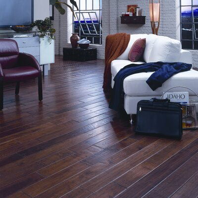 "Anderson Floors Cimarron 5"" Solid Hickory Flooring in Sorrel"