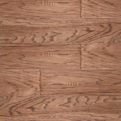 SAMPLE - River Ranch Engineered Hickory in Fireside Hand Scraped