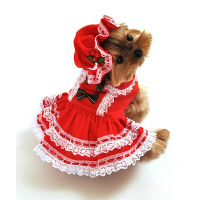 Anit Accessories Miss Santa Baby Dog Costume