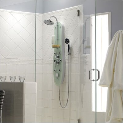 Jacuzzi® Ristorre Ovale Thermostatic Shower Panel