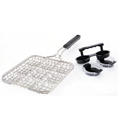 Mr. Bar-B-Q 9 Piece Mini Burger Grilling Set