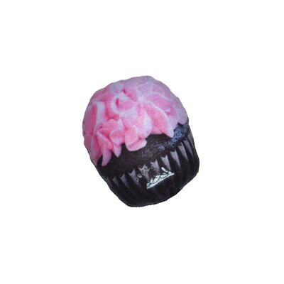 Dogzzzz Tough Chew Pink Cupcake Dog Toy
