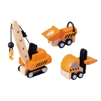Plan Toys City Construction Vehicles