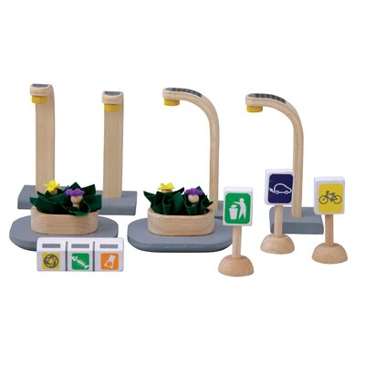 Plan Toys City Eco Street Accessories
