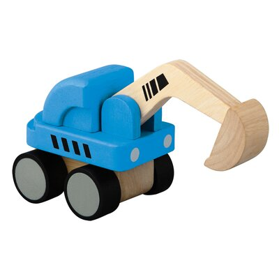 Plan Toys City Mini Excavator