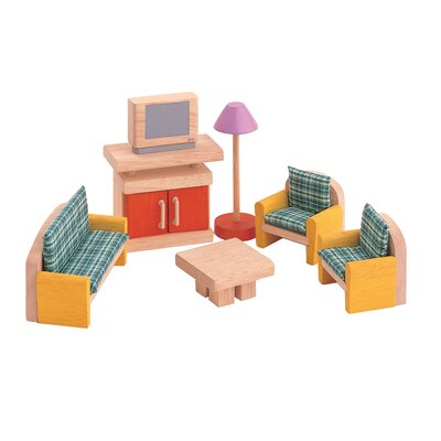 Plan Toys Dollhouse Living Room-Neo