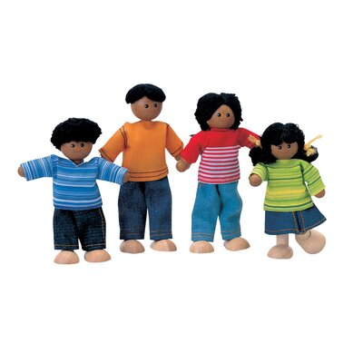 Plan Toys Dollhouse Ethnic Doll Family