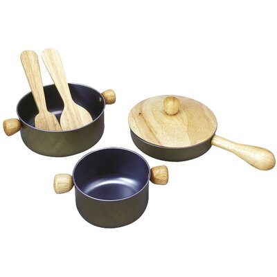 Plan Toys Large Scale Cooking Utensils Set