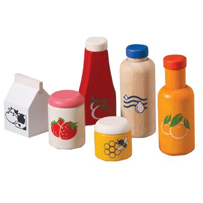 Plan Toys Large Scale Food and Beverage Set