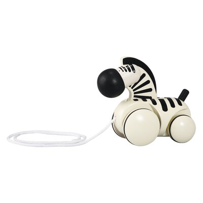 Plan Toys Preschool Pull Along Zebra