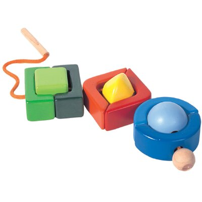 Plan Toys Preschool Geo Beads Set