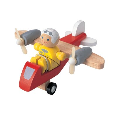Plan Toys City Turboprop Airplane with Pilot