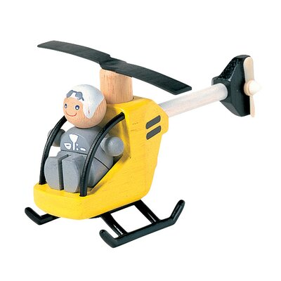 Plan Toys City Helicopter with Pilot