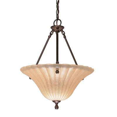 Nuvo Lighting Moulan 3 Light Inverted Pendant