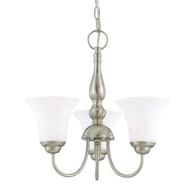 Nuvo Lighting Dupont 3 Light Chandelier