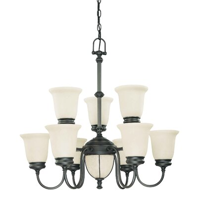 Nuvo Lighting Salem 9 Light Chandelier