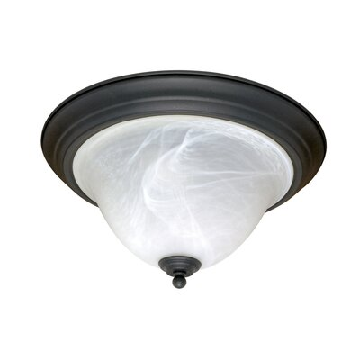 Nuvo Lighting Castillo 2 Light Flush Mount