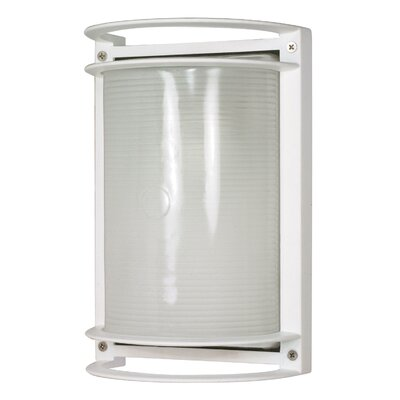 Nuvo Lighting  Rectangle Wall Sconce in Semi Gloss White
