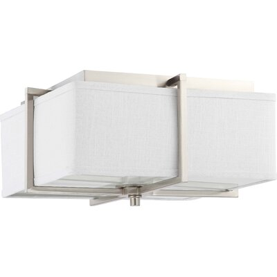 Nuvo Lighting Logan 2 Light Flush Mount - Energy Star