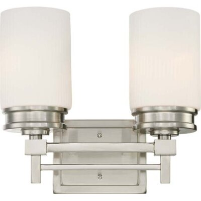 Nuvo Lighting Wright 2 Light Bath Vanity Light