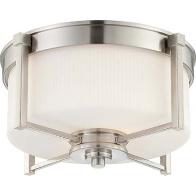 Nuvo Lighting Wright Flush Mount