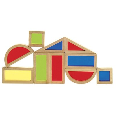 Guidecraft 10 Piece Rainbow Block Set