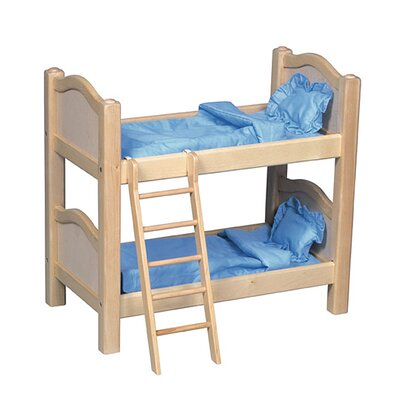 Guidecraft Doll Bunk Bed in Natural