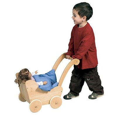 Guidecraft Doll Buggy in Natural
