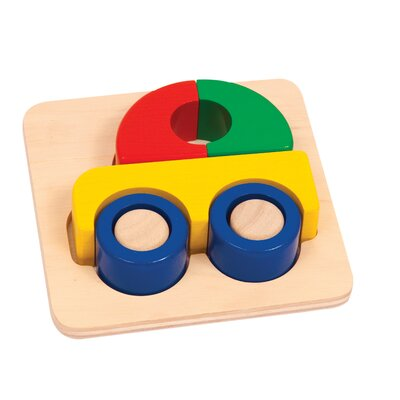 Guidecraft Car Primary Puzzle