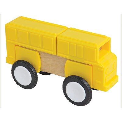 Guidecraft Block Mates Community Vehicles (Set of 4)