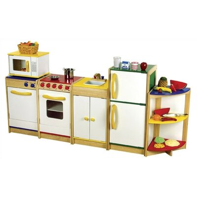 Guidecraft Color Bright Kitchen Dishwasher