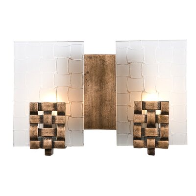 Varaluz Recycled Dreamweaver Bath Light - Two Light