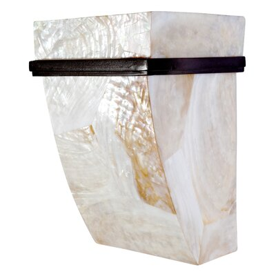 Varaluz Sustainable Shell Big Sconce - One Light