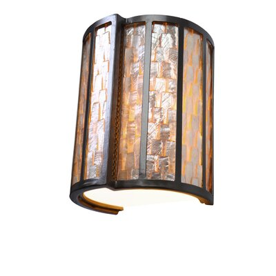 Varaluz Affinity 1 Light Sustainable Sconce