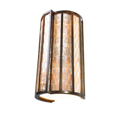 Varaluz Affinity 2 Light Sustainable Sconce