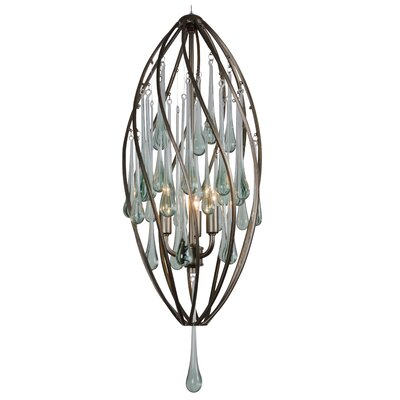 Varaluz Area 51 3 Light Foyer Pendant