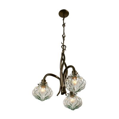 Varaluz Tusk Three Light Chandelier