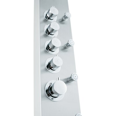 Vigo Dual Function Shower Panel with Rain Shower Head