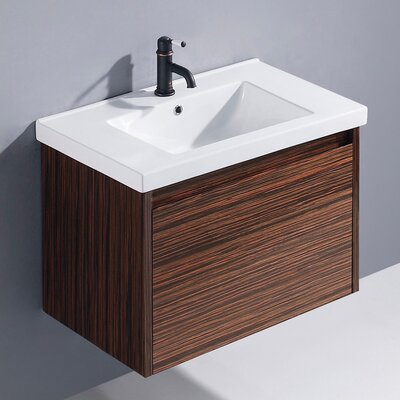 "Vigo 32"" Espresso Petit Single Bathroom Vanity"