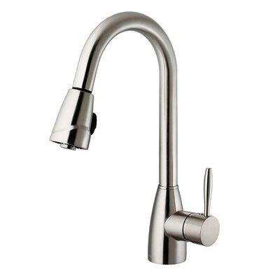 Valencia One Handle Single Hole Spray Kitchen Faucet