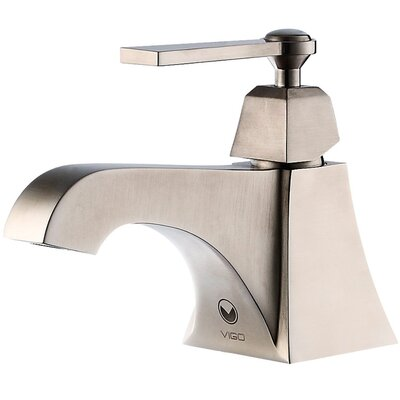 Vigo Plutus Single Handle Bathroom  Faucet