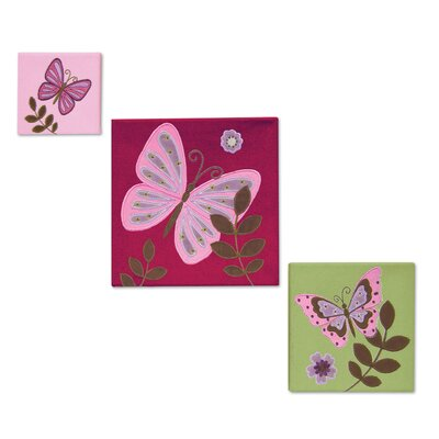 NoJo Emily Canvas Wall Art (Set of 3)