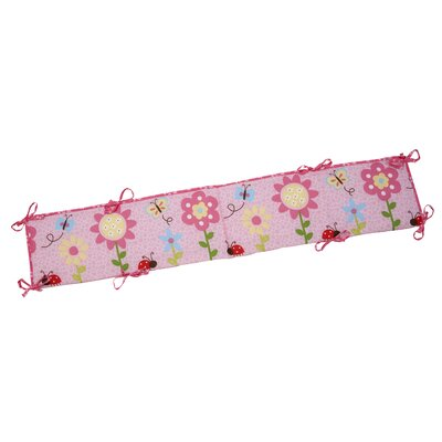 NoJo Little Miss Lady Bug Traditional Padded Bumper