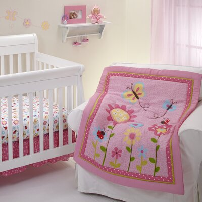 NoJo Little Miss Lady Bug Crib Bedding Collection