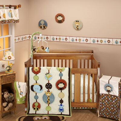 Jungle Tales Crib Bedding Collection