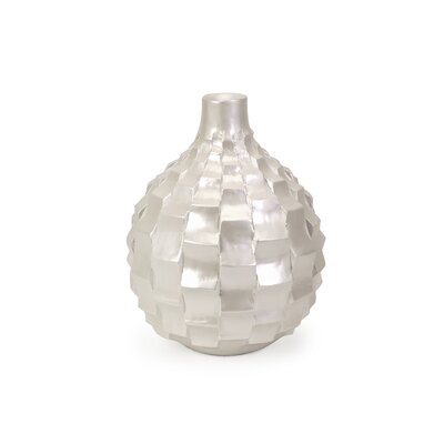 IMAX Helena Small Vase in Pearl