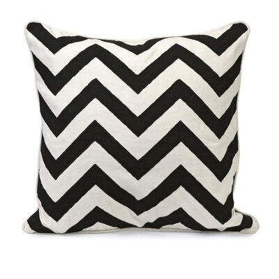 IMAX Chevron Embroidered Cotton Pillow